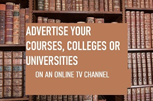 I will Promote your Courses, Colleges, Universities or Educational Materials to my 10,000 video w