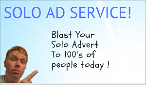 I will Blast Your Solo Advert or Affiliate Link