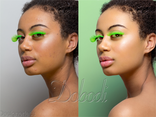 do a premium top-quality High-end magazine style retouch of your photo