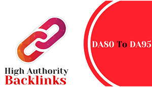 I will boost your google SEO with manual high authority backlinks and trust links