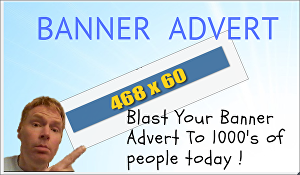 I will Blast Your Banner Advert To 25,000 People