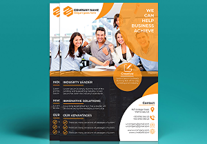 I will design creative flyer for your business