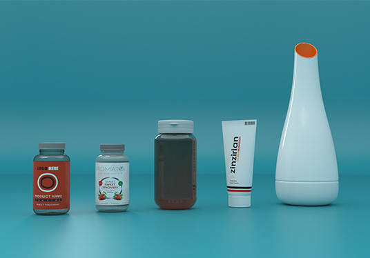 do premium 3D product packaging design and label design