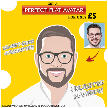 Create A Stunning Flat Avatar Of You