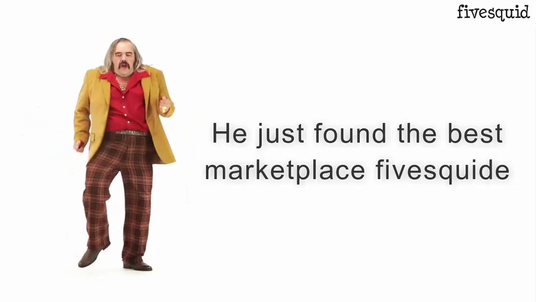 make this funny man happy dance advertising video