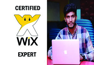 I will design and redesign wix website