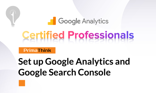 set up Google Analytics and Google Search Console