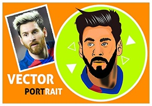 I will Draw Your Photo Cartoon Caricature In 24 Hours
