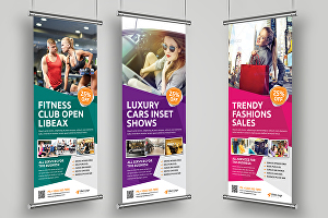 I will Design Augmented Reality Roll Up Banner