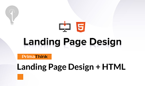 I will Create Professional Landing Page Design + HTML