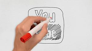 I will make a Whiteboard animated video
