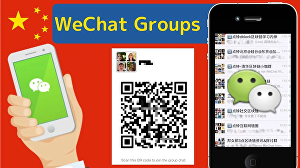 I will promote your business in  100 WeChat Groups