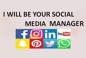 I will Manage Your Social Media