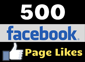 I will give you 500 Facebook Page Likes to kickstart your FB Page