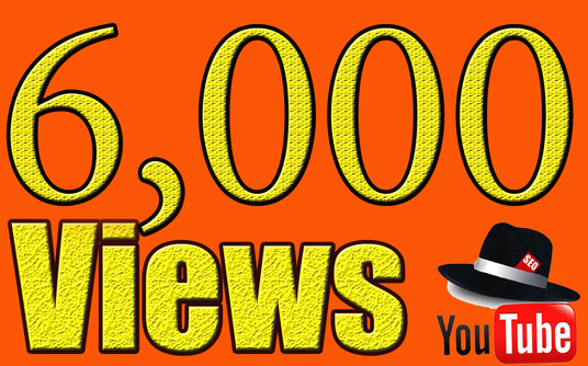 Give you  Fast Real-Instant 6,000+ Youtube Video Views