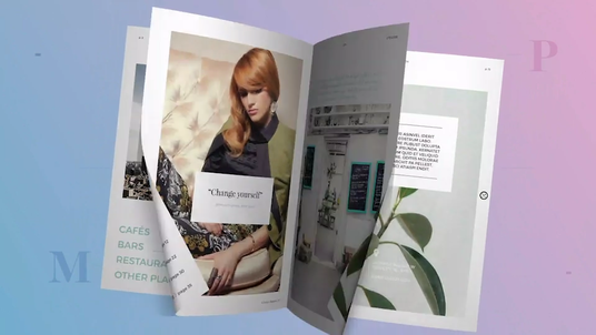 make a flip book promo video of your book