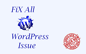 I will fix your all WordPress issues