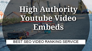 I will Embed Youtube video into 10+ high PR web 2 sites