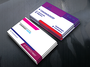 I will make eye-catching business card design