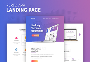 I will design a professional landing page