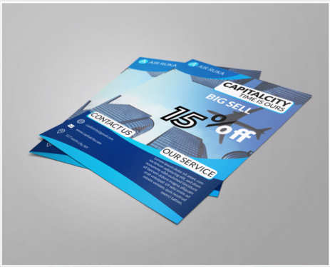 design eye catching flyers and posters for you