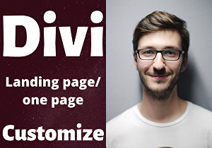 I will design your custom website using divi theme and divi builder