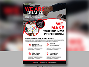 I will Create Great Looking Flyer Leaf Design