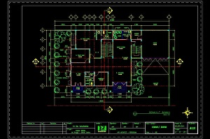 I will make 2D & 3D architectural drawing services