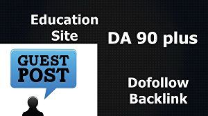 I will Write And Publish Guest Post On Education Blog DA 90+
