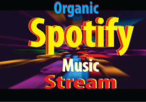 I will do organic Spotify promotion and make your music famous