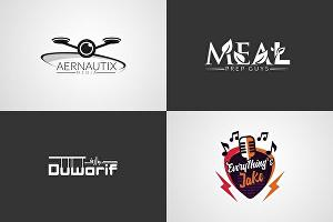 I will design an awesome logo for you in less than 24 hours