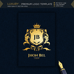 I will design Unique Luxury Name Logo