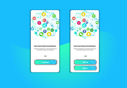 create modern mobile app ui ux design, wireframes and  prototyping