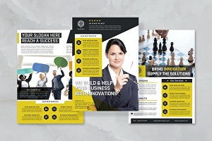 I will design professional flyer or brochure