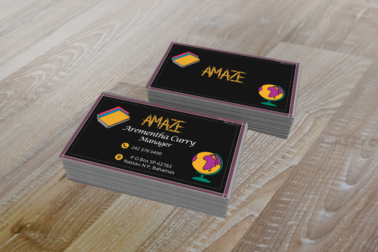design business card, flyer, or brochure