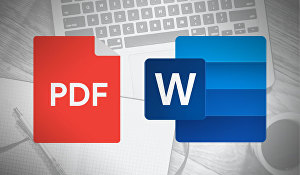 I will convert your pdf file to word file