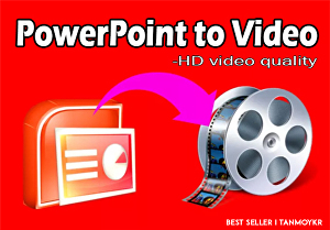 I will Convert Powerpoint Presentation Slide Into Video