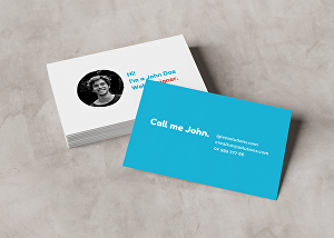I will design an outstanding business card ready for print
