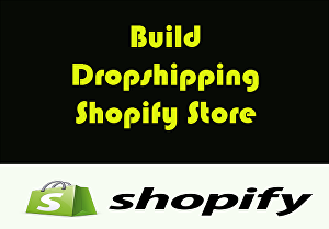 I will Build Money Making Dropshipping Shopify Store