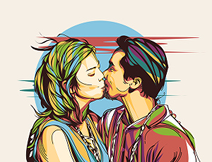 I will draw colorful pop art of your photo