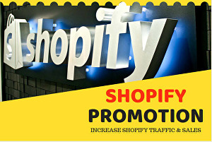 I will do shopify marketing or etsy promotion