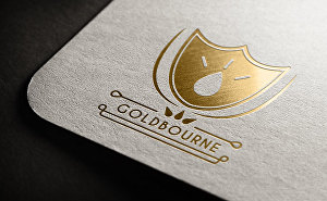 I will design badge style logo for you