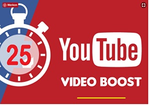 I will share your video manually  to the  best  top 25 big social Pages