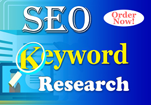 I will do SEO keyword research and competitor analysis
