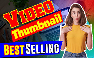I will Design eye Catchy Youtube Thumbnail Design