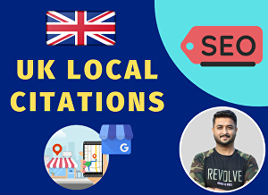 I will do UK Citation, Local Listing, Local Citation for UK Local Business