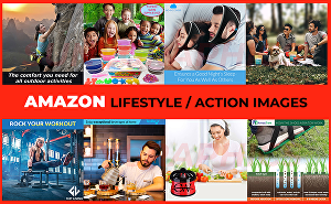 I will design stunning amazon product listing images