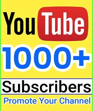 I will Add 1000+ Real Youtube Subscribers