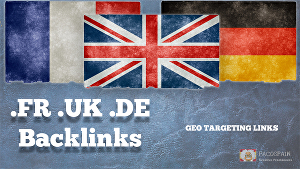 I will Create Exclusively Country Specific Domain Backlinks For Your Website