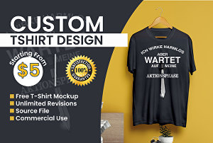 I will  Design A Trendy Tshirt Design Based On Your Vision